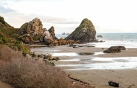 ROCKY COAST OF OREGON